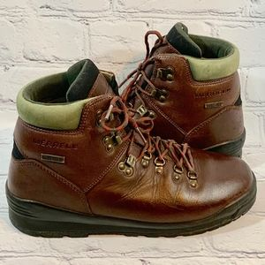 Merrell Rimrock GTX Brown Leather Hiking Boots 8
